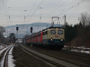 Lokzug aus Güterzugloks