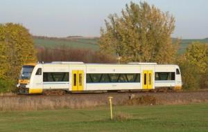 Regioshuttle der Freiberger Eisenbahn