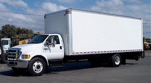 Ford F650 Box Van